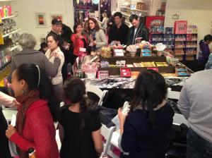 People buzz on candy and culture during our Candy-mission